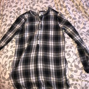 Plaid long sleeve shirt from Old Navy